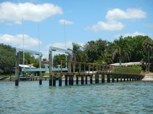 Deco Boatlift and Dock