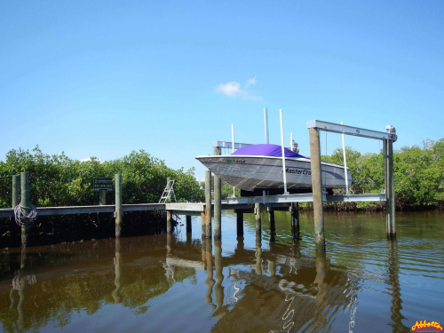 Boatlift with Dock