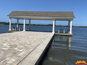 Covered Dock and Seawall